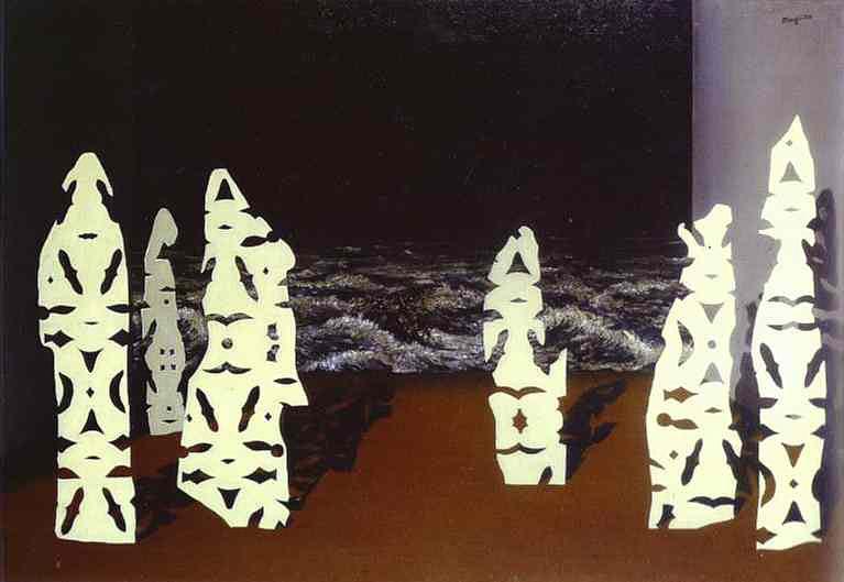 René Magritte - O ornamento da tempestade