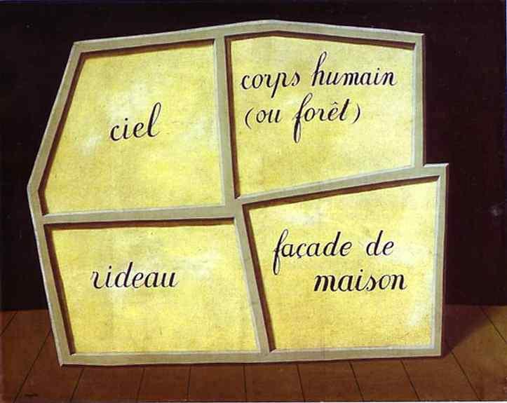 René Magritte - A máscara vazia