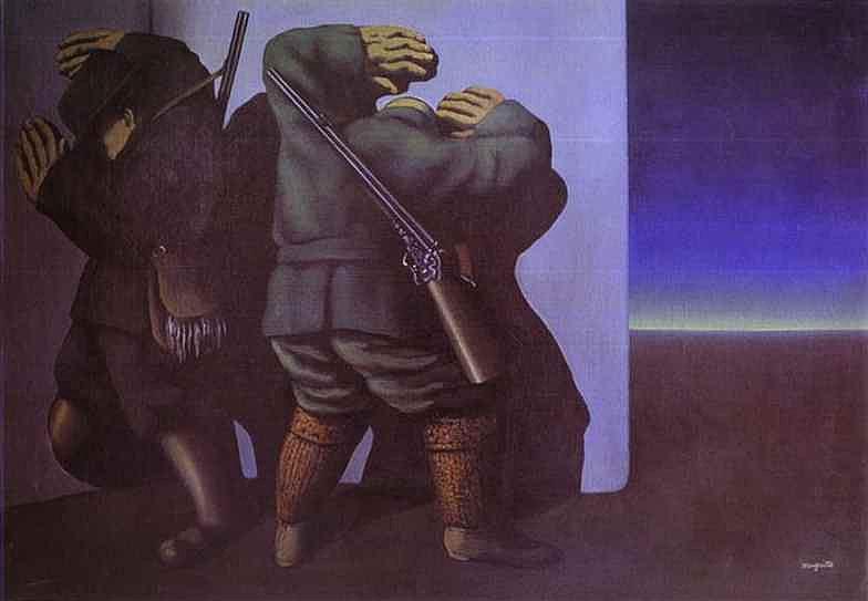 René Magritte - Caçadores da noite