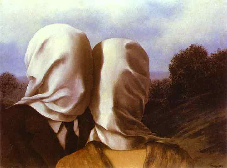 René Magritte - Os amantes