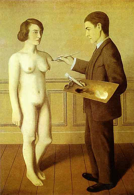 René Magritte - Tentando o impossível