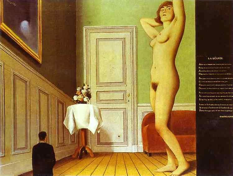 René Magritte - A gigantesca