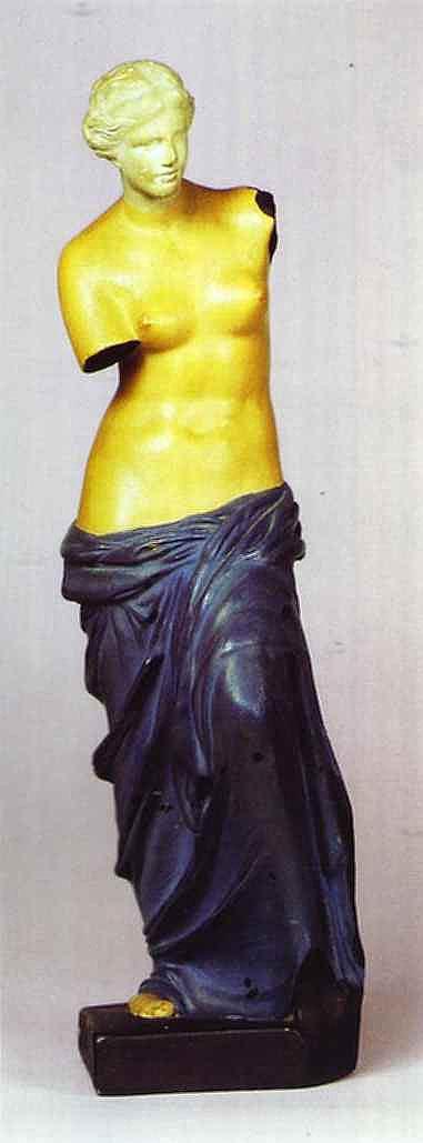 René Magritte - Reprodução da Vênus de Milo