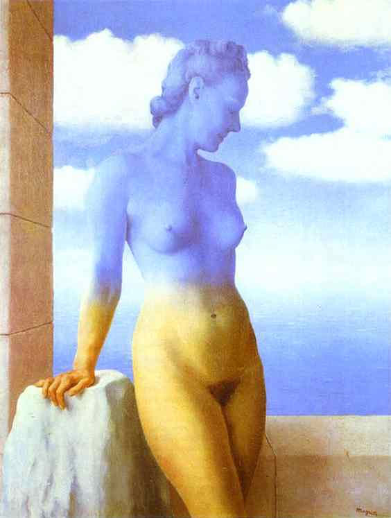 René Magritte - Mágica preta