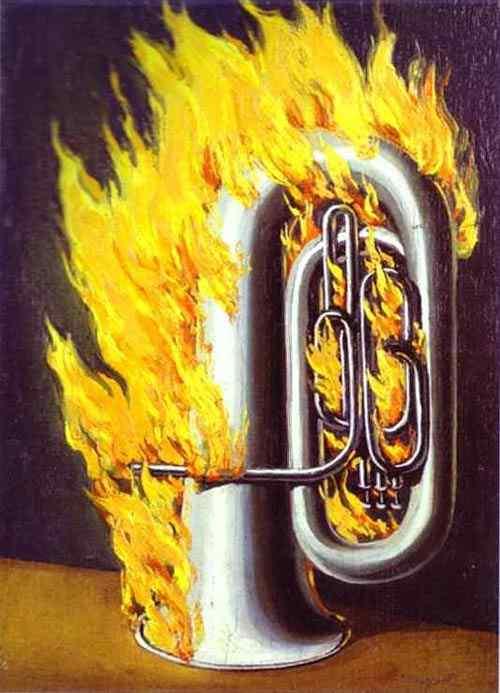 René Magritte - A descoberta do fogo