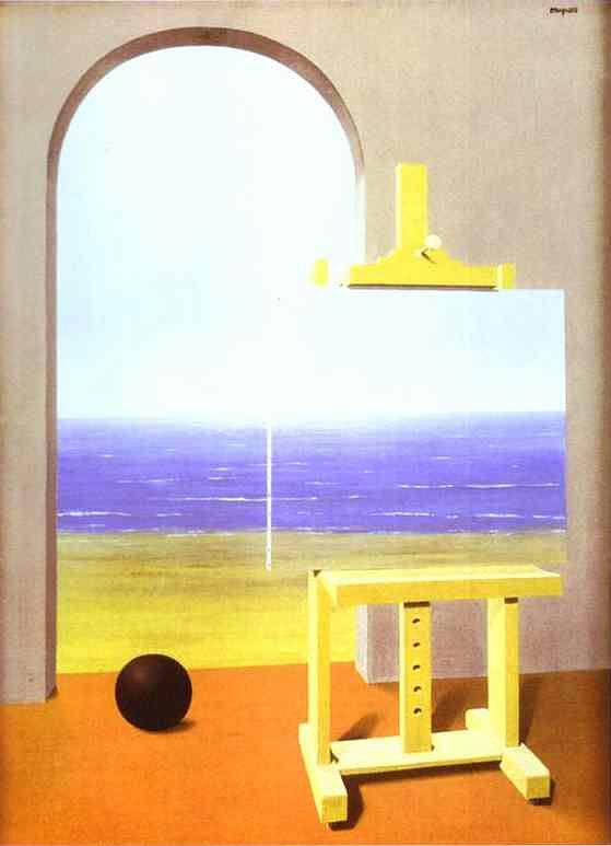 René Magritte - A condição humana