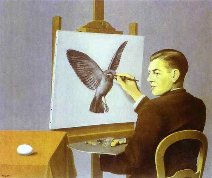 René Magritte - Perspicacidade