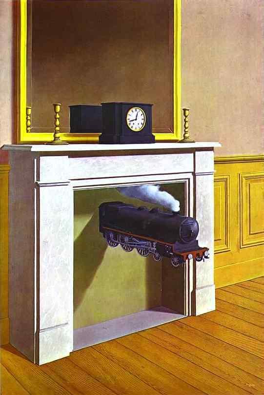 René Magritte - La durée poignardee
