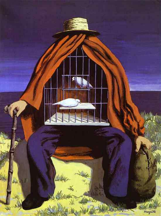 René Magritte - O terapeuta