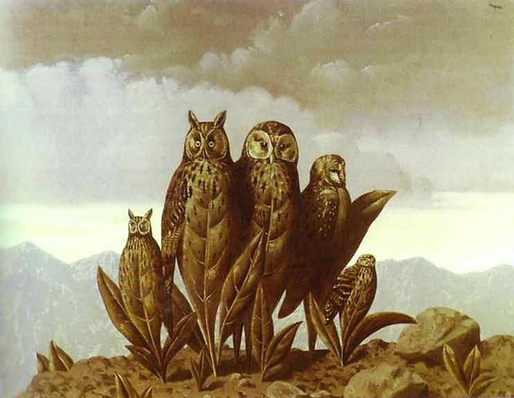 René Magritte - Os companheiros do medo