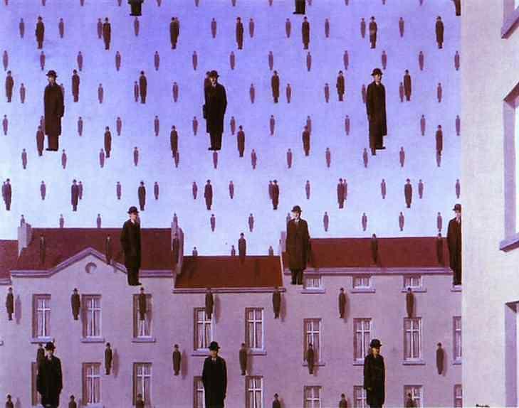 René Magritte - Gonconda