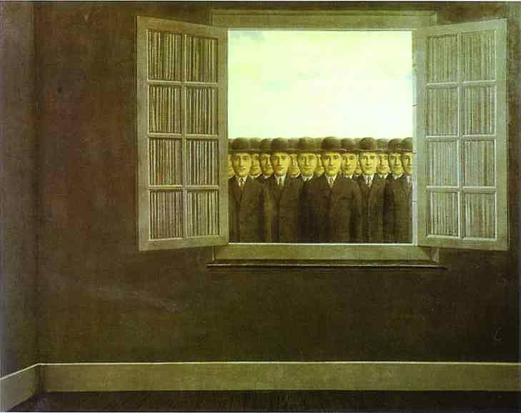 René Magritte - O mês da colheita da uva