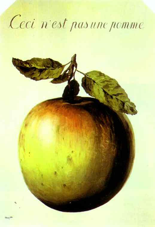 René Magritte - Isto não é maçã