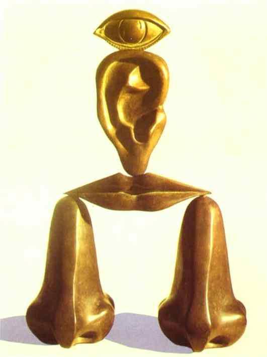 René Magritte - A raça branca