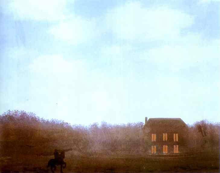 René Magritte - O Império de luzes (não concluído)