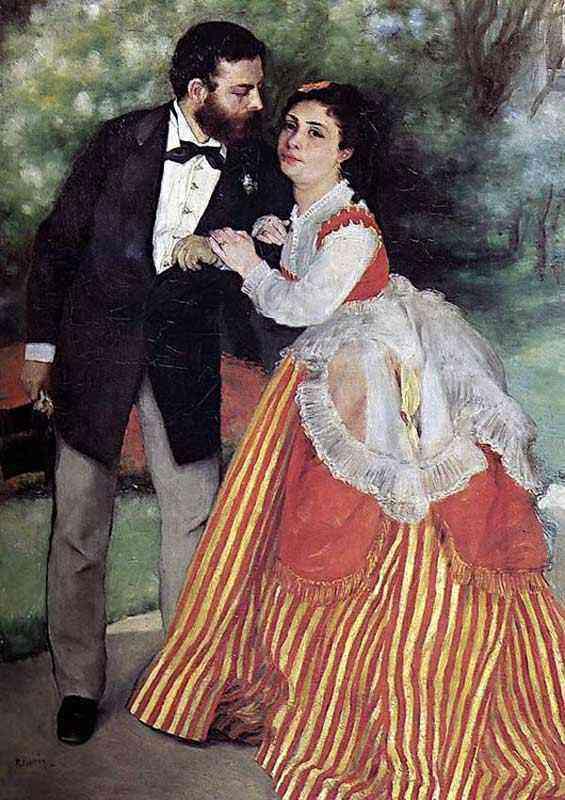 Pierre-Auguste Renoir - Sisley e sua mulher