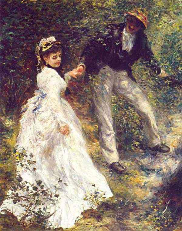 Pierre-Auguste Renoir - A caminhada