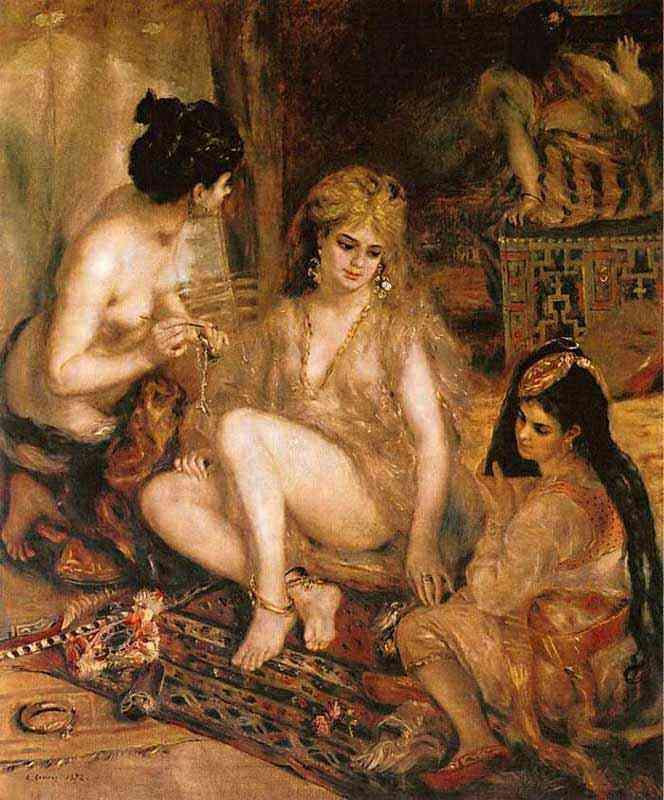 Pierre-Auguste Renoir - O harém