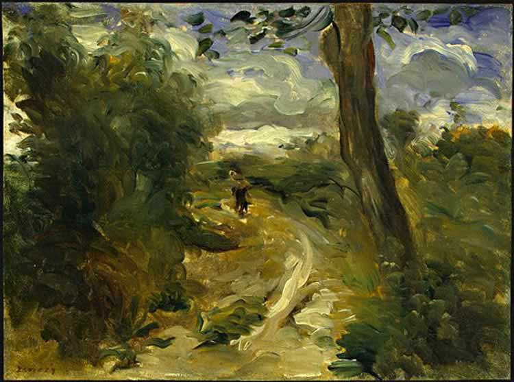 Pierre-Auguste Renoir - Paisagem entre tempestades