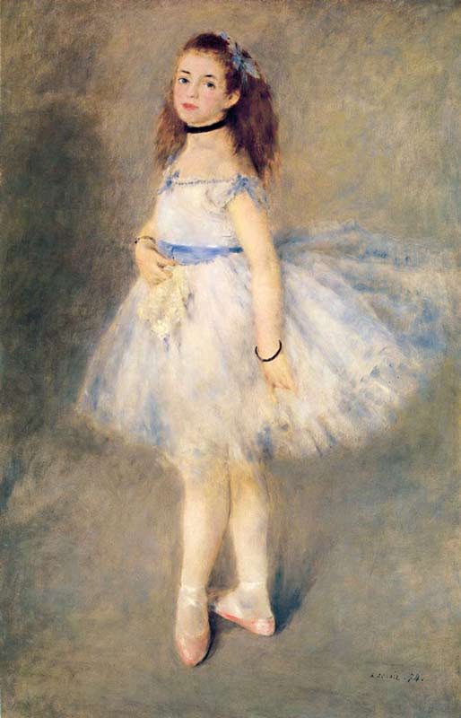 Pierre-Auguste Renoir - A bailarina