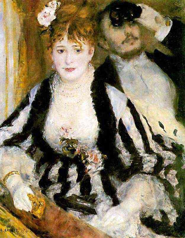Pierre-Auguste Renoir - O palco