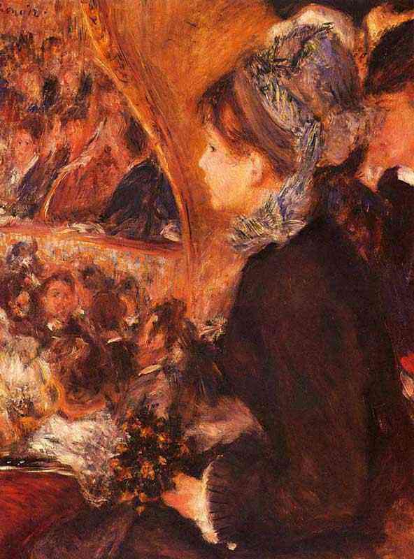 Pierre-Auguste Renoir - No teatro