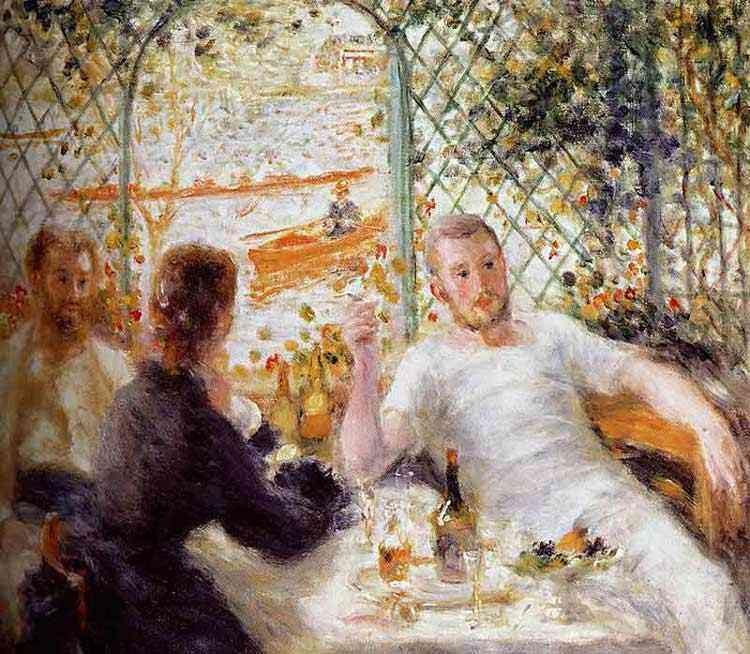 Pierre-Auguste Renoir - Almoço à beira do rio