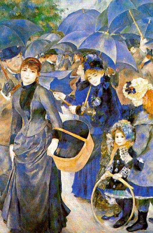 Pierre-Auguste Renoir - As sombrinhas
