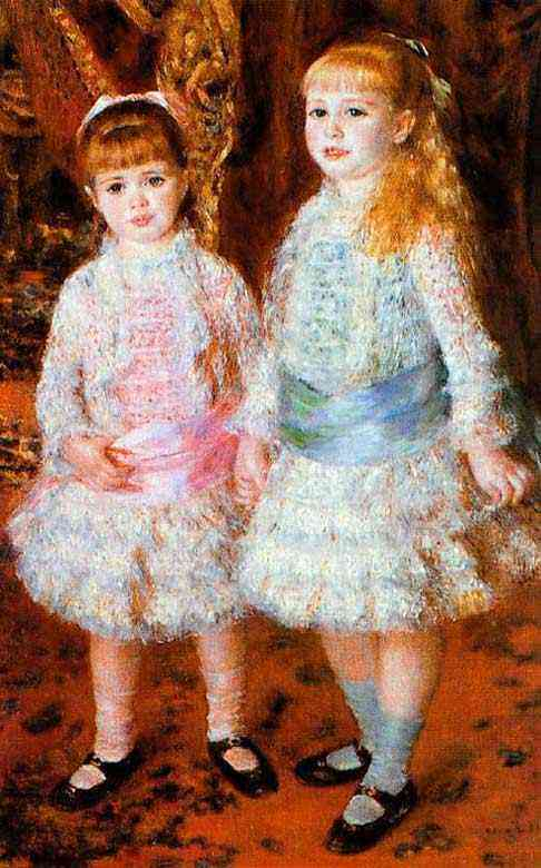 Pierre-Auguste Renoir - As jovens irmãs Cahen d