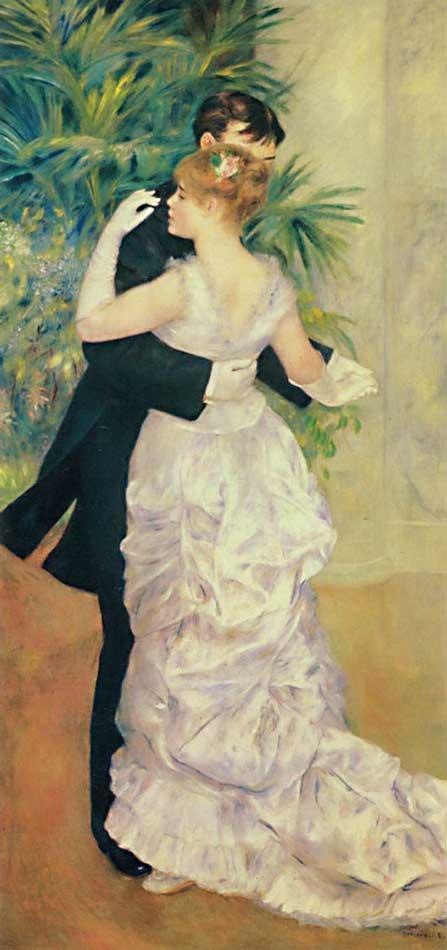 Pierre-Auguste Renoir - Dança na cidade