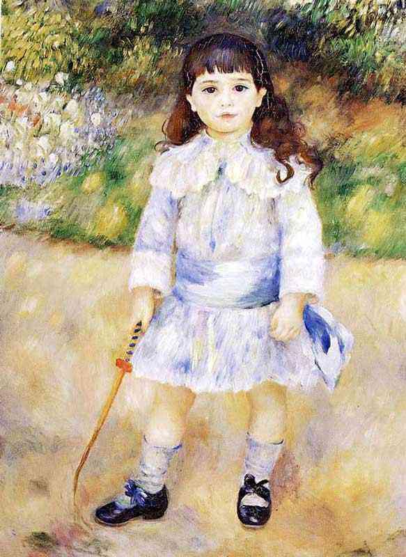 Pierre-Auguste Renoir - Criança com um chicote