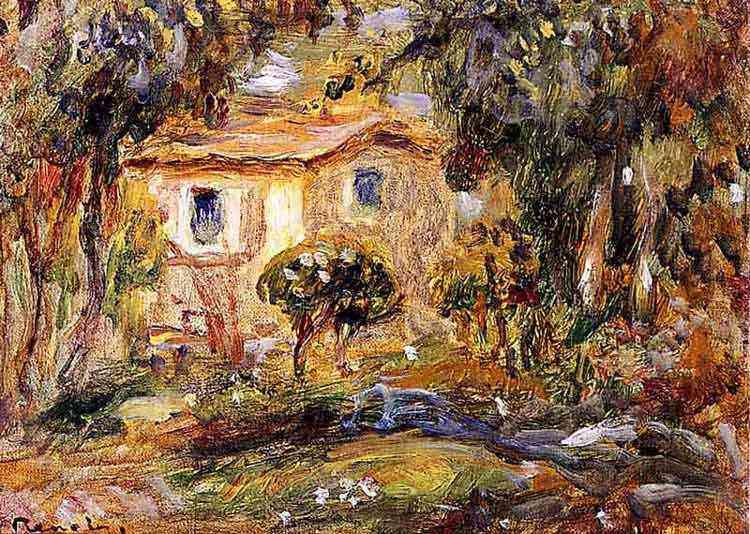 Pierre-Auguste Renoir - Paisagem