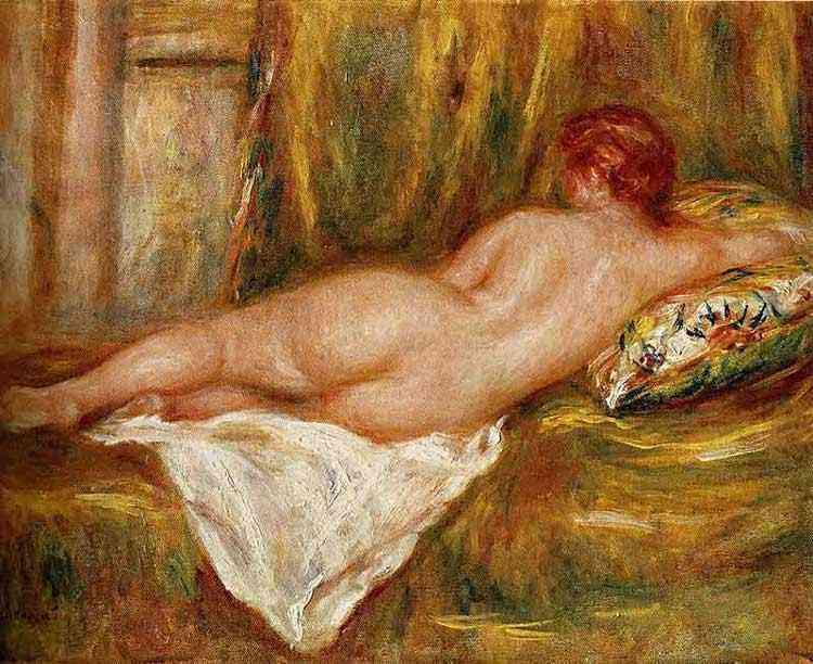 Pierre-Auguste Renoir - Nu feminino visto de costas