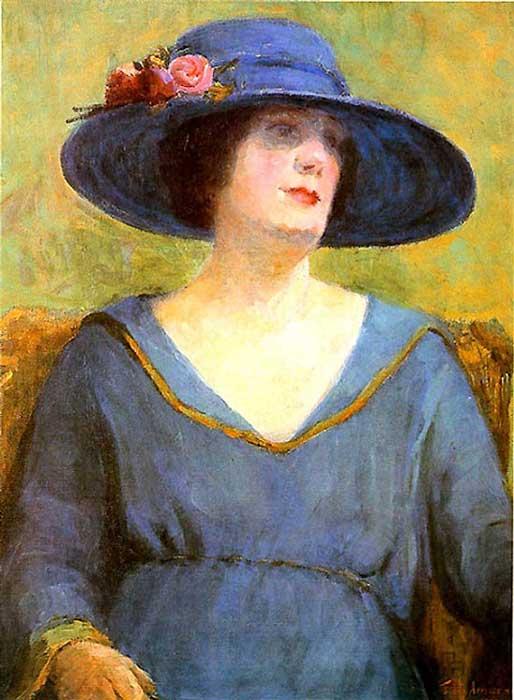 Tarsila do Amaral - Chapéu Azul