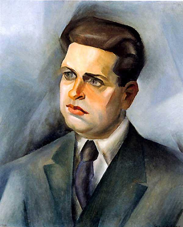 Tarsila do Amaral - Retrato de Oswald de Andrade