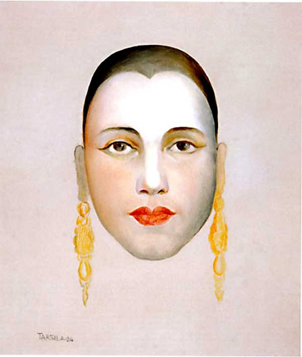 Tarsila do Amaral - Auto-retrato I
