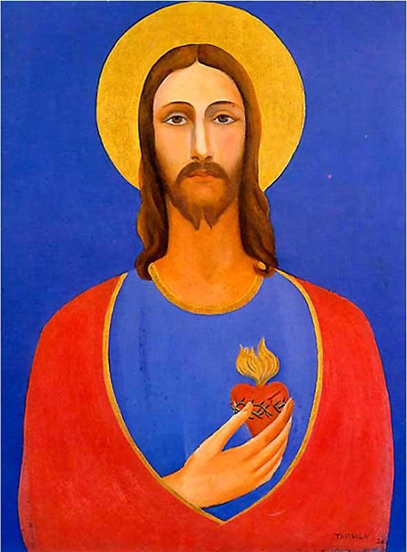Tarsila do Amaral - Coração de Jesus