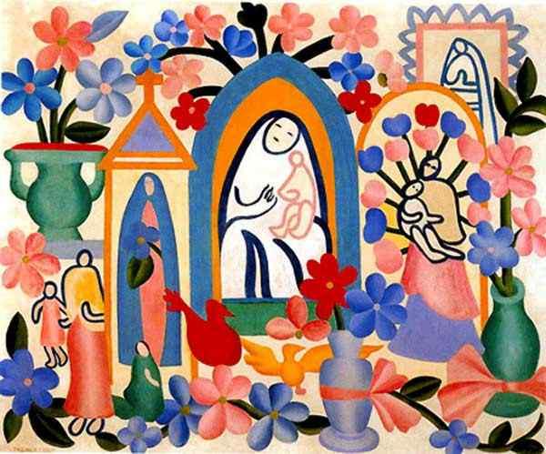 Tarsila do Amaral - Religião Brasileira