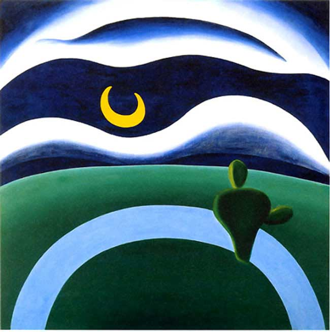 Tarsila do Amaral - A Lua