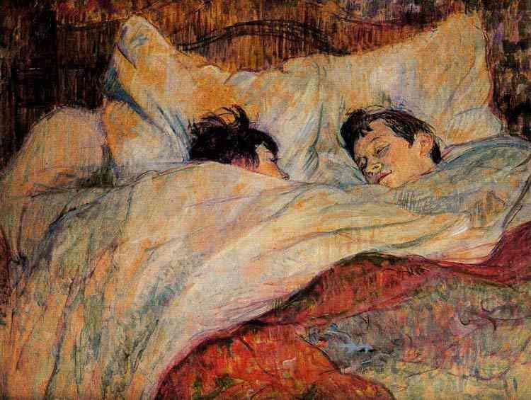 Henri de Toulouse-Lautrec - A cama