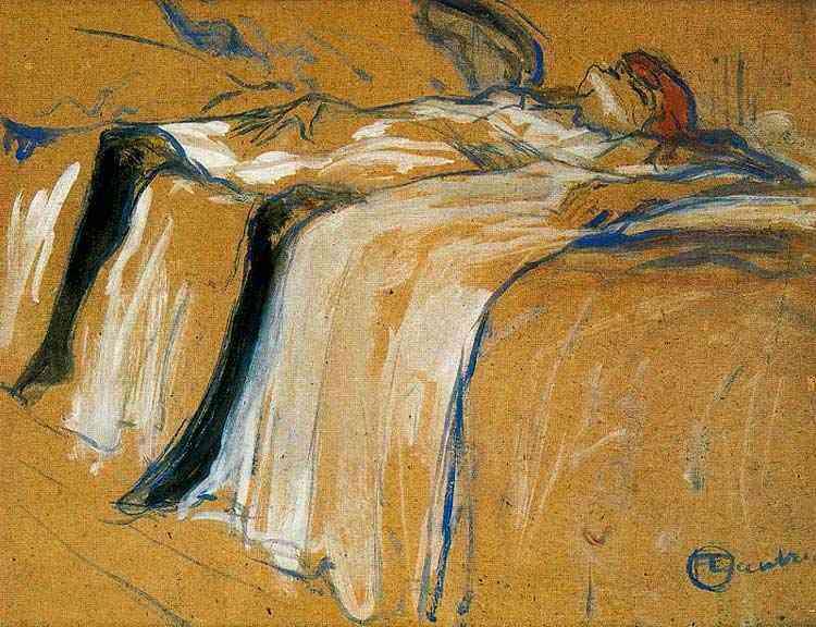 Henri de Toulouse-Lautrec - Sozinha