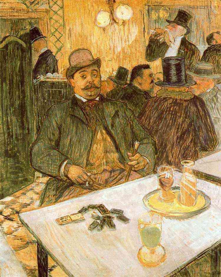 Henri de Toulouse-Lautrec - Sr. Boileau no café