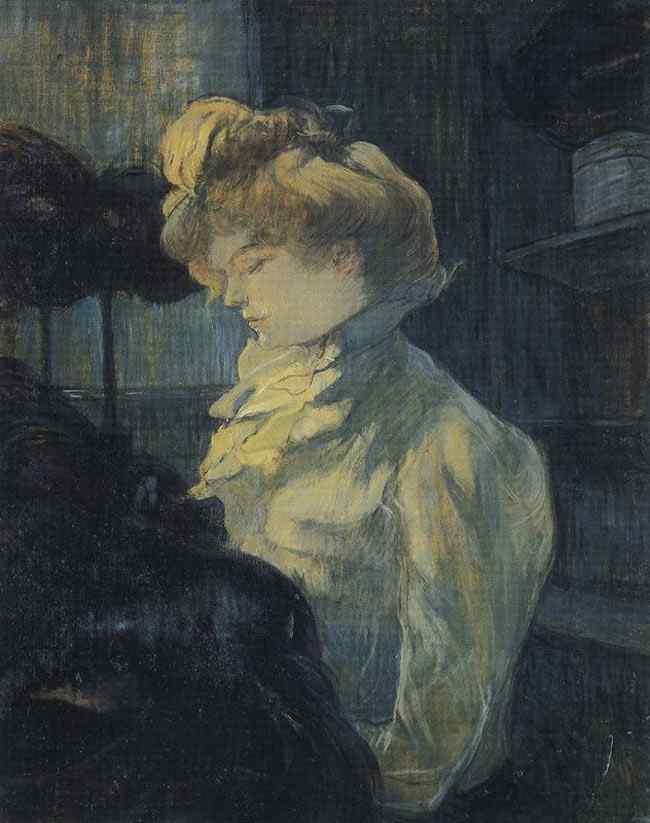Henri de Toulouse-Lautrec - A modista