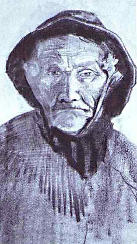 Vincent Van Gogh - Pescador com suéter
