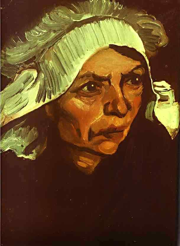 Vincent Van Gogh - Camponesa