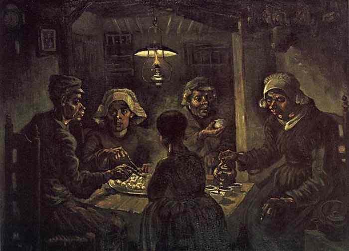 Vincent Van Gogh - Os comedores de batata