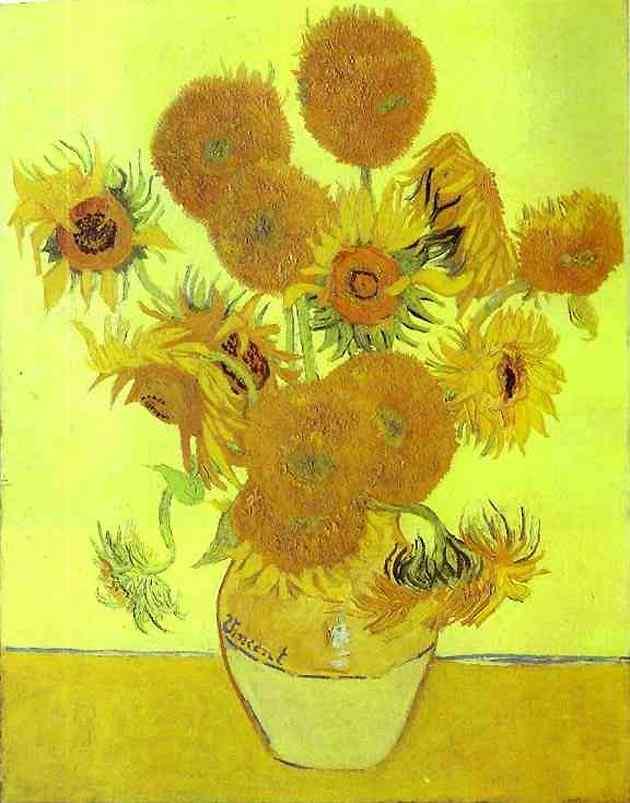 Vincent Van Gogh - Girassóis