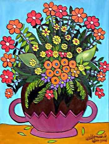 Waldomiro de Deus - Vaso de flores