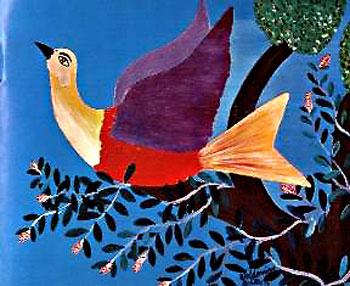 Waldomiro de Deus - O pássaro do céu azul
