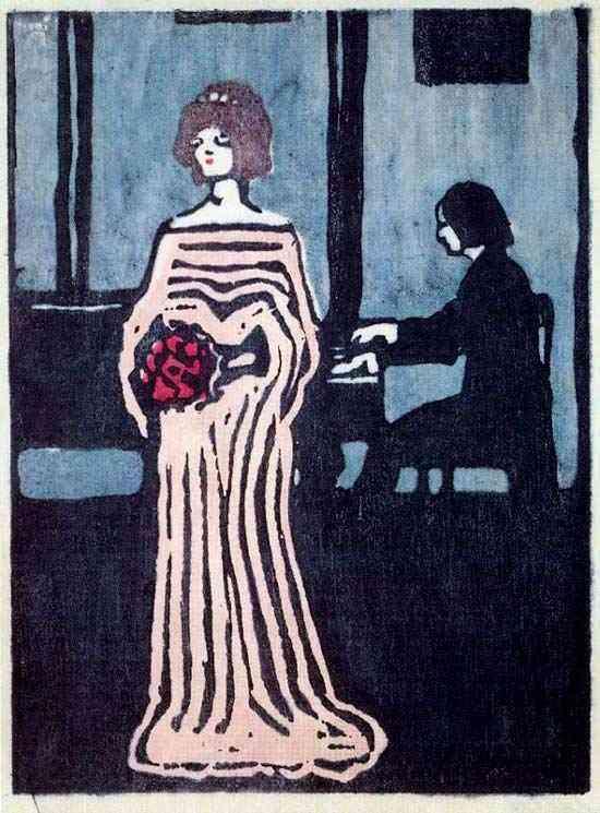 Wassily Kandinsky - A cantora